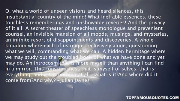 Quotes About Silences