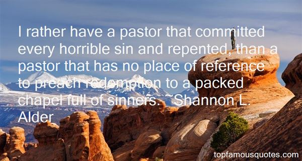Quotes About Sin And Redemption