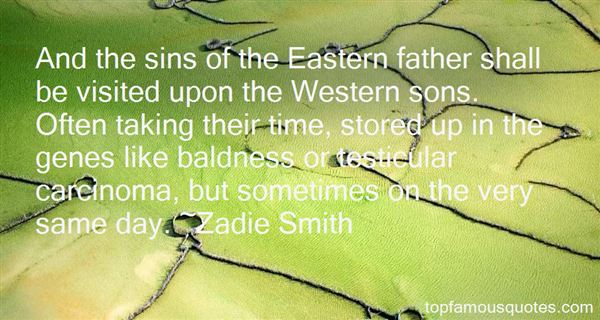Quotes About Sins Of The Father