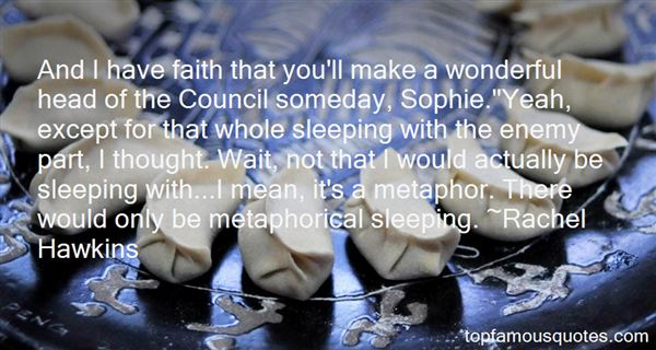Quotes About Sleeping With The Enemy