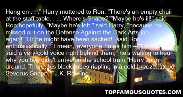 Quotes About Snape Harry