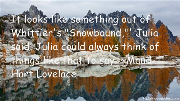 Quotes About Snowbound