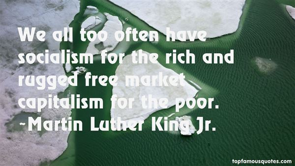 Quotes About Socialism And Capitalism