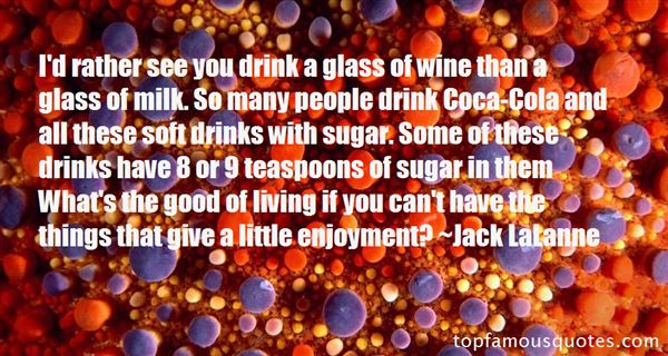 Quotes About Soft Drinks