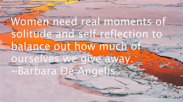 Quotes About Solitude And Reflection