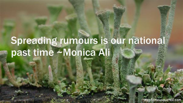 Quotes About Spreading Rumours