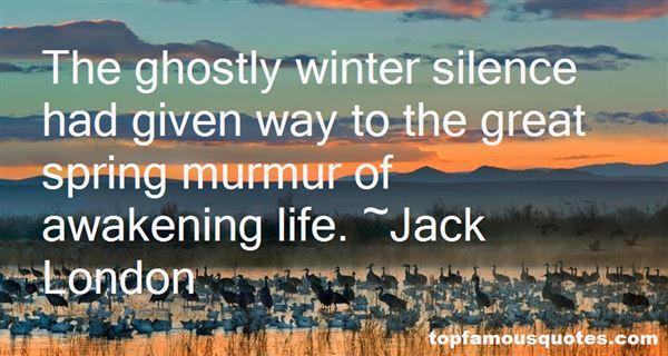 Quotes About Spring Awakening