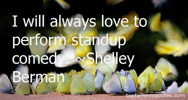 Quotes About Stand Up Comedy