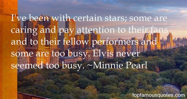 Quotes About Star Performers