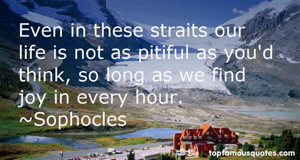 Quotes About Straits