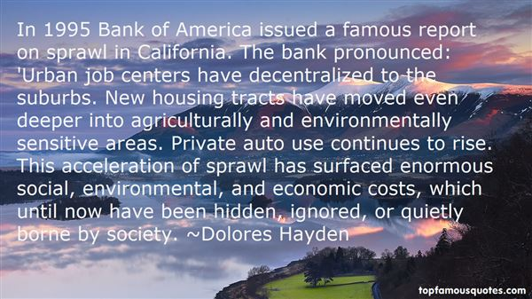 Quotes About Suburbs