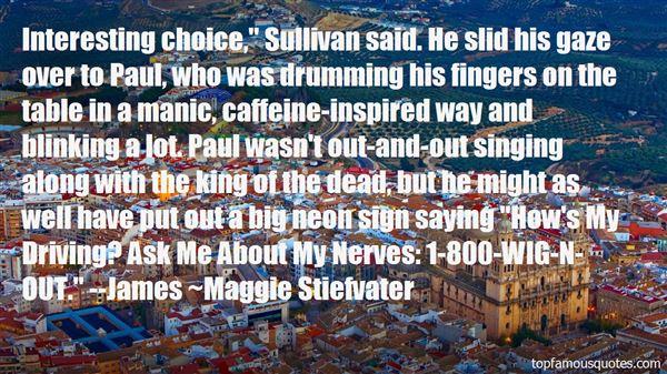 Quotes About Sullivan
