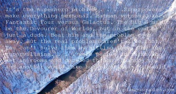 Quotes About Supervillains
