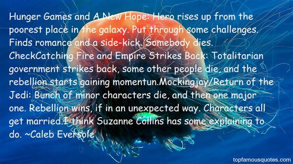 Quotes About Suzanne Collins
