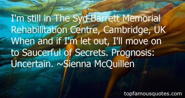 Quotes About Syd Barrett