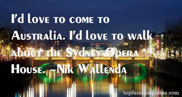 Quotes About Sydney Opera House
