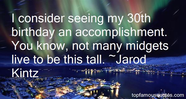 Quotes About Tall