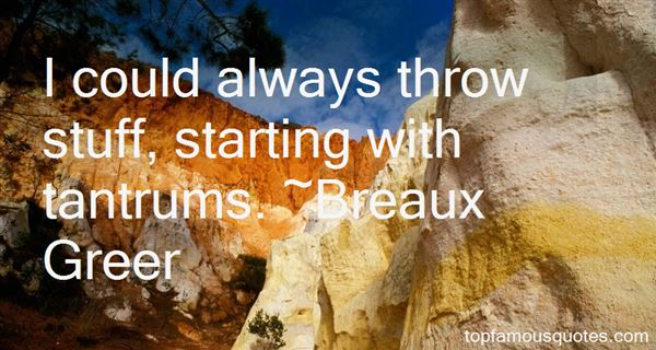 Quotes About Tantrums