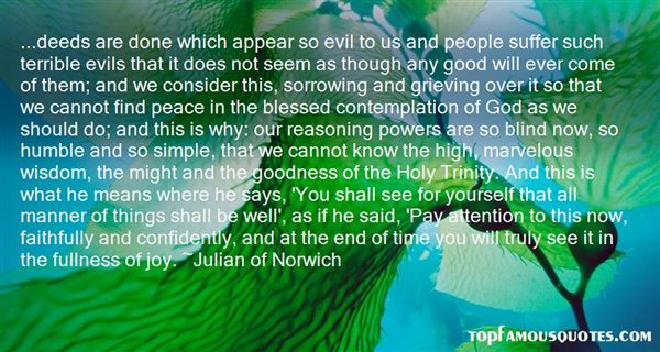 Quotes About The Blessed Trinity