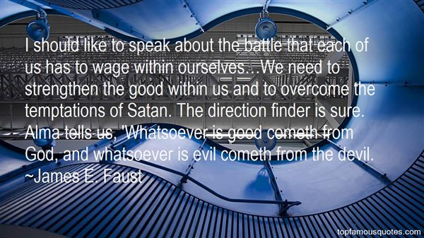 Quotes About The Temptations Of The Devil