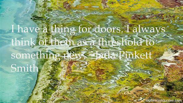 Quotes About Threshold
