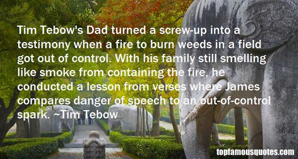 Quotes About Tim Tebow