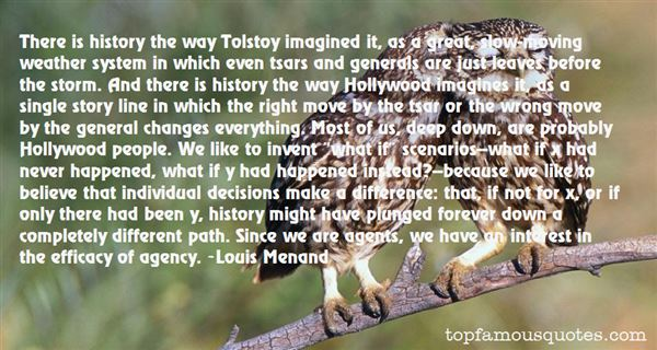 Quotes About Tolstoy History
