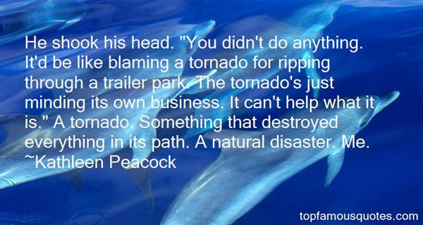 Quotes About Tornado