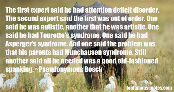 Quotes About Tourette Syndrome