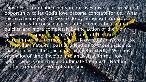 Quotes About Trauma In Love