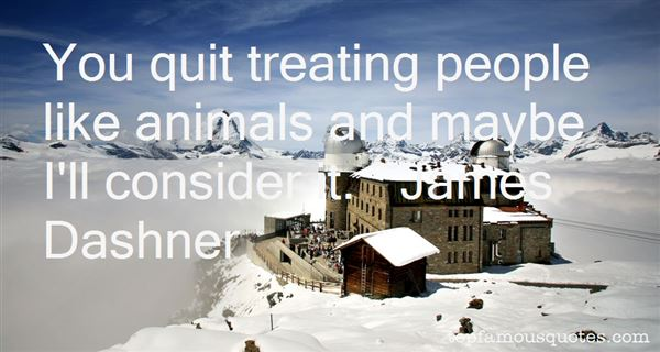 Quotes About Treating Animals