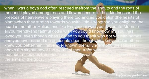Quotes About Trees And God