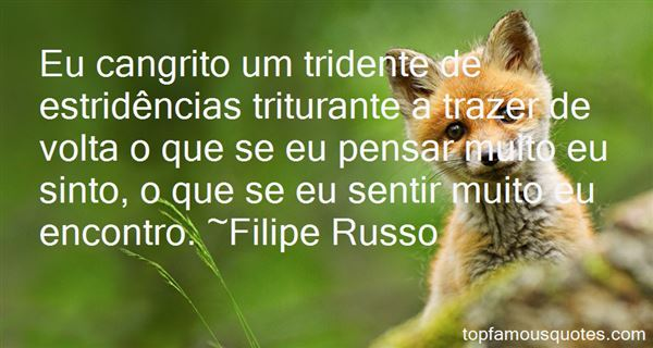Quotes About Tridente