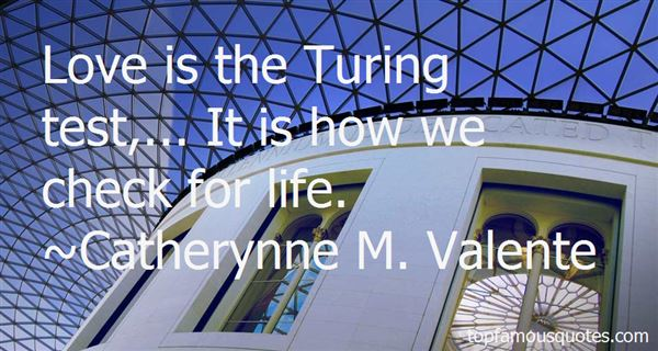 Quotes About Turing