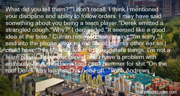 Quotes About Undisciplined