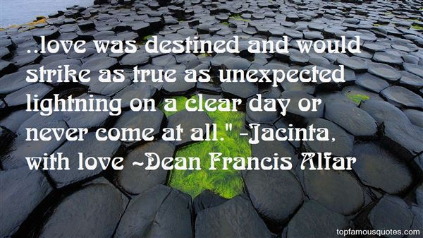 Quotes About Unexpected Love