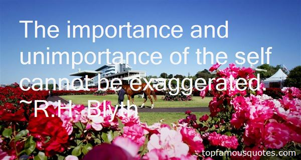 Quotes About Unimportance