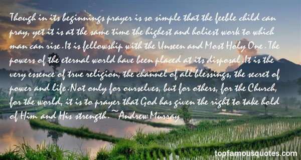 Quotes About Unseen Blessings