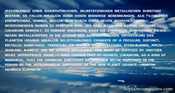 Quotes About Uranium
