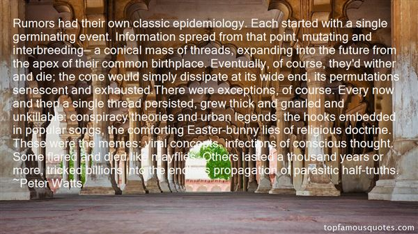 Quotes About Urban Legends