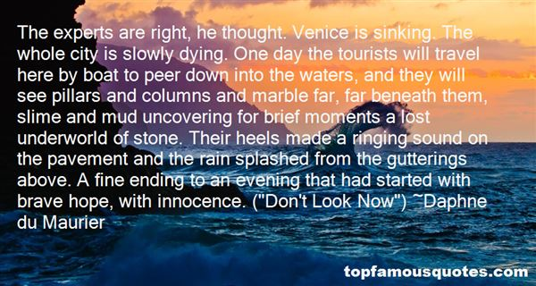 Quotes About Venice Sinking