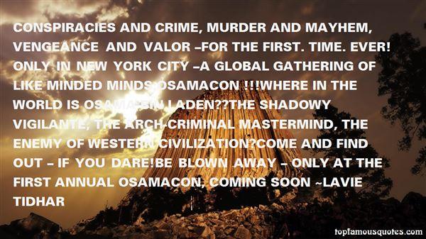 Quotes About Vigilante
