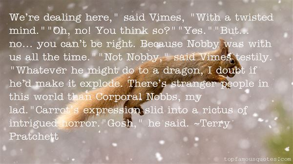 Quotes About Vimes