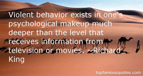 Quotes About Violent Behavior