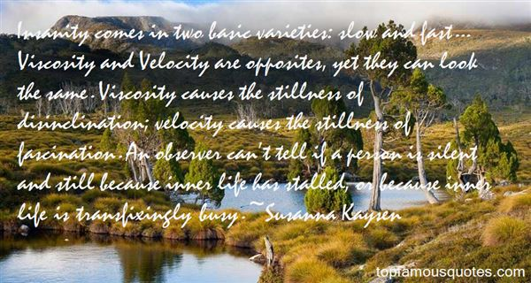 Quotes About Viscosity