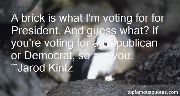 Quotes About Voting For President