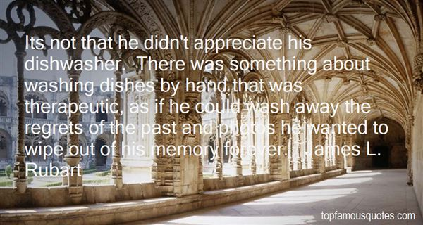 Quotes About Washing Away The Past