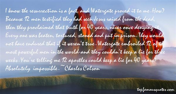 Quotes About Watergate