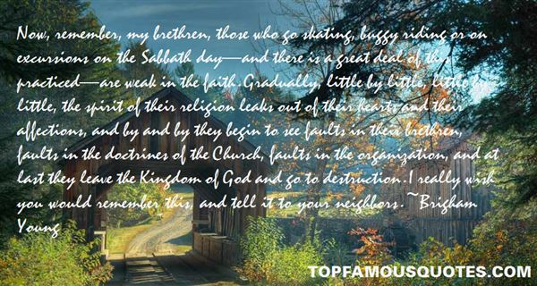 Quotes About Weak Faith
