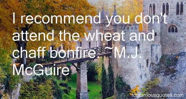 Quotes About Wheat And Chaff